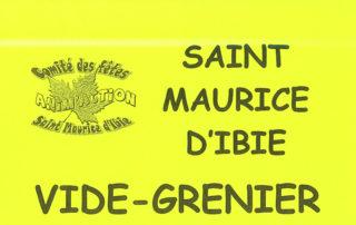 Fête champêtre à St Maurice d'Ibie