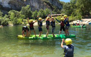 Canoë encadré – journée découverte 7 kms avec Kayacorde