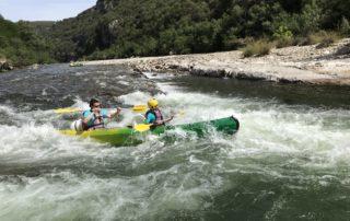 Canoë encadré – journée Sportive 24 km avec Kayacorde