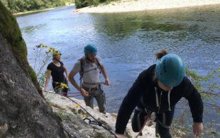 Rando Aventure du Pont d'Arc demi-journée avec Kayacorde