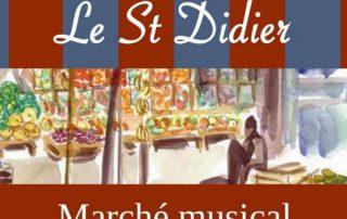 Marché musical Le St Didier