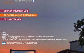 Cinéma sous les étoiles à St Maurice d'Ibie