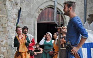 Le Temps des Chevaliers - Animations médiévales au Château de Largentière