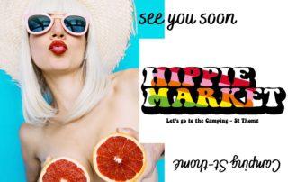 Hippie market au Camping le Médiéval