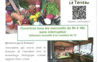 Marché local et de saison: Vente directe de légume bio