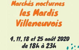 Mardis villeneuvois – Marché nocturne