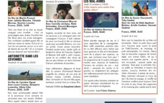 Programme cinéma Lussas