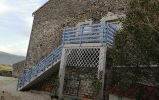 Le Mas d'Ambre - Entrée du Gîte Titou à St Germain