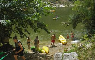 Canoë - Kayak de Vallon à St Martin d'Ardèche - 30 km / 2 jours avec Canoës Service