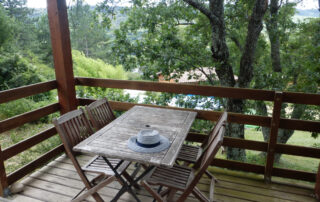 Green Chalet 3/5 people perfect for families, naturelovers, with pool and hottube