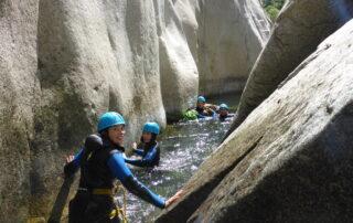 Canyon journée Chassezac Intermédiaire avec Nature Canyon
